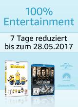 100% Entertainment - 7 Tage reduziert