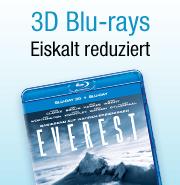 3D-Blu-rays reduziert