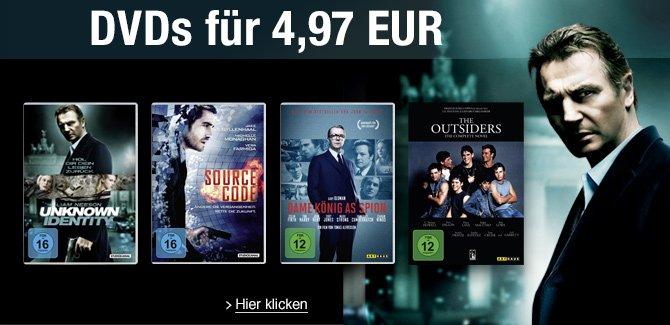 DVDs für 4.97 EUR