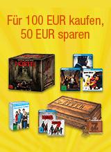 Fuer 100 euro kaufen und 50 euro sparen