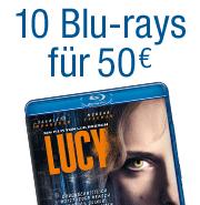 10 Blu-rays für 50 EUR