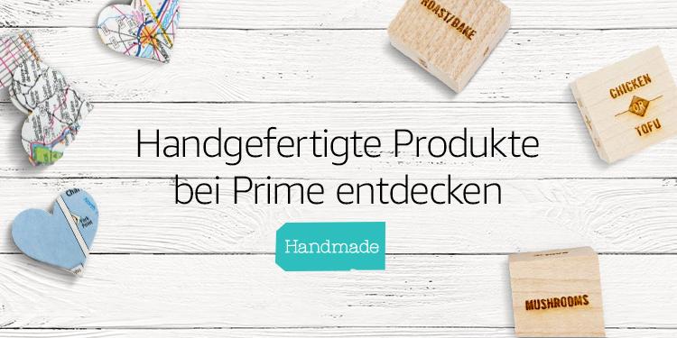 Entdecken sie handgefertigte Produkte bei Prime