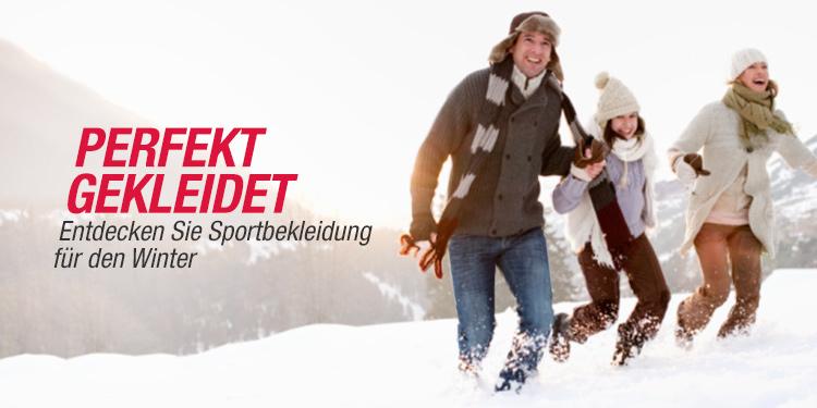 Sportbekleidung Winter