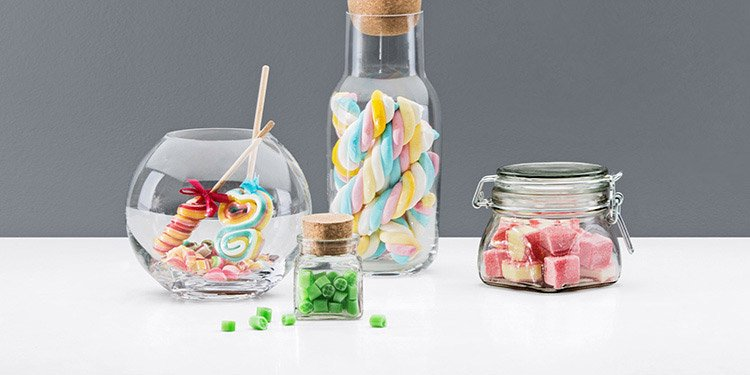 Einmachgläser, Glasbehälter