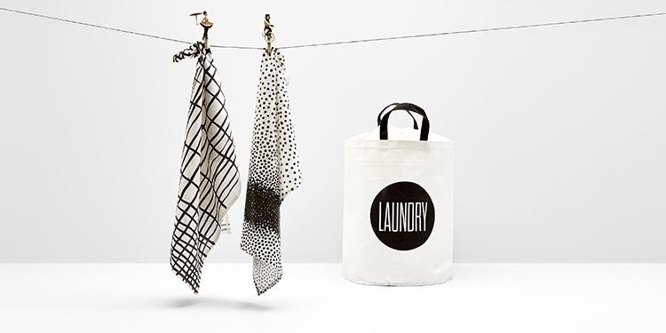 Wäsche und Waschzubehör