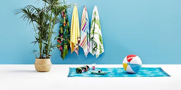 Strand- und Badetücher