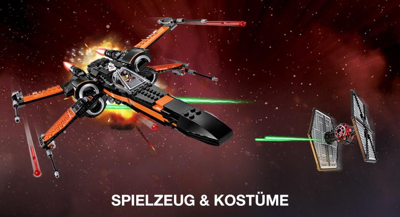 Star Wars Spielzeug und Kostueme