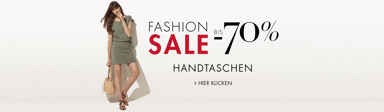 Fashion Sale bis -70% auf ausgewählte Handtaschen