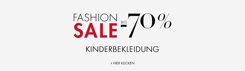 Sale Kinderbekleidung 70%