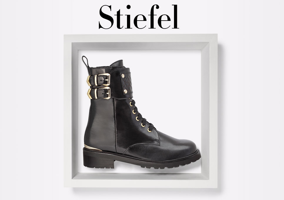 Herbst 2016: Stiefel