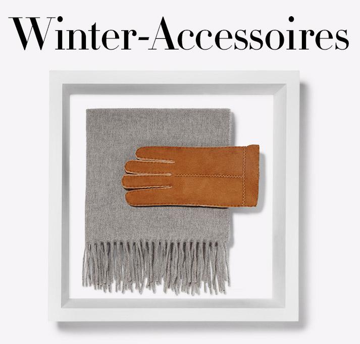 Herbst 2016: Winter Accessoires
