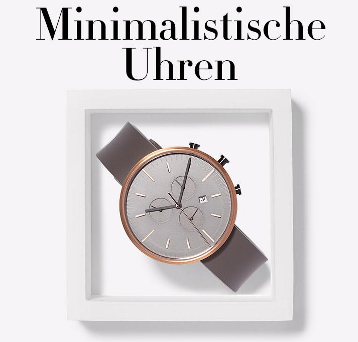 Herbst 2016: Minimalistische Uhren