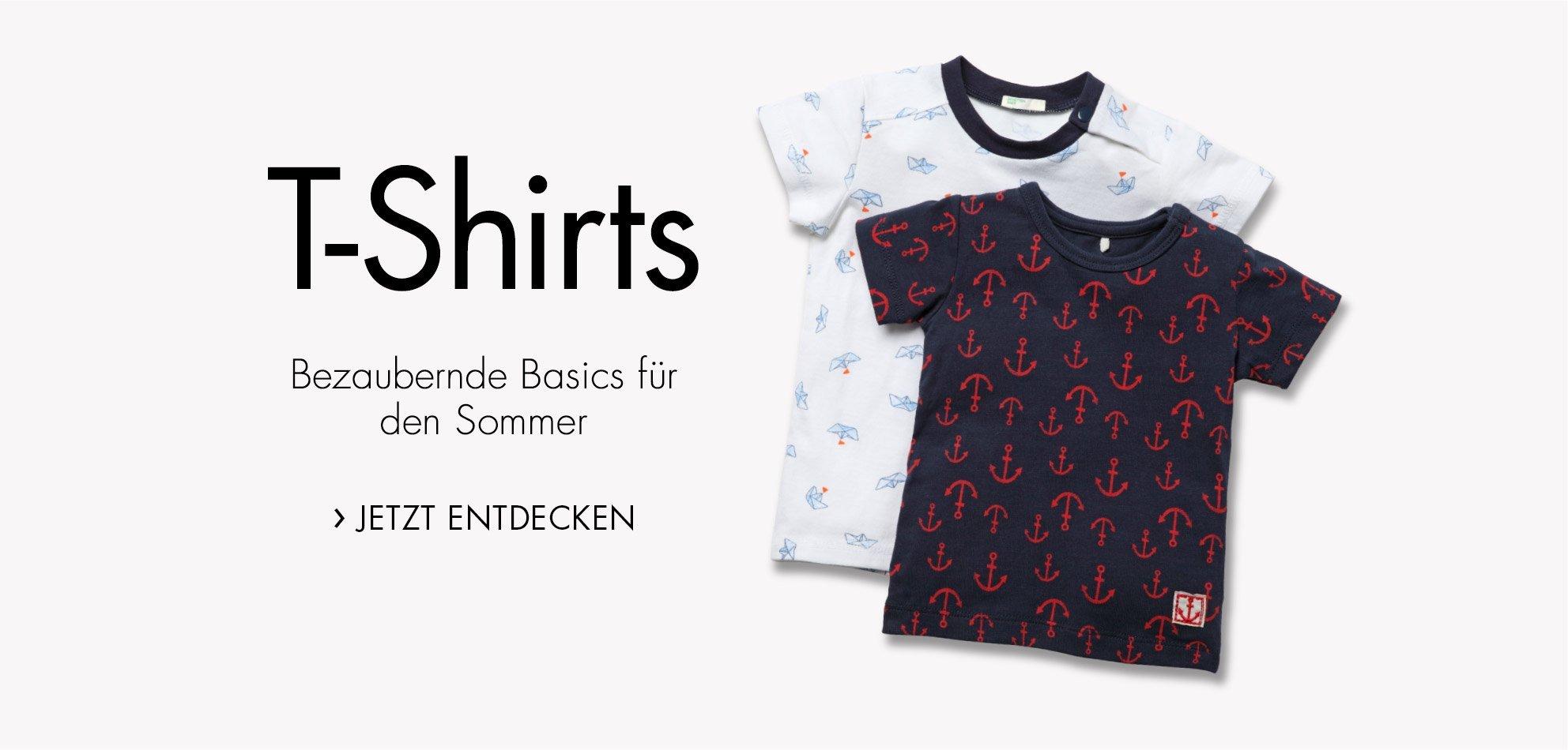 Baby T-Shirts für den Sommer