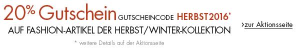 15€ Fashion Gutschein