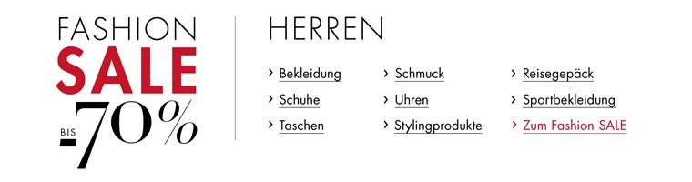 Fashion Sale Herren
