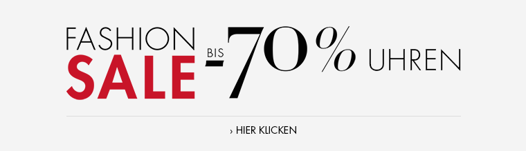 Fashion Sale bis -70% Uhren
