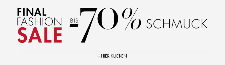 Fashion Sale bis -70% Schmuck