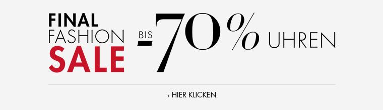 Fashion Sale bis -70% Uhren