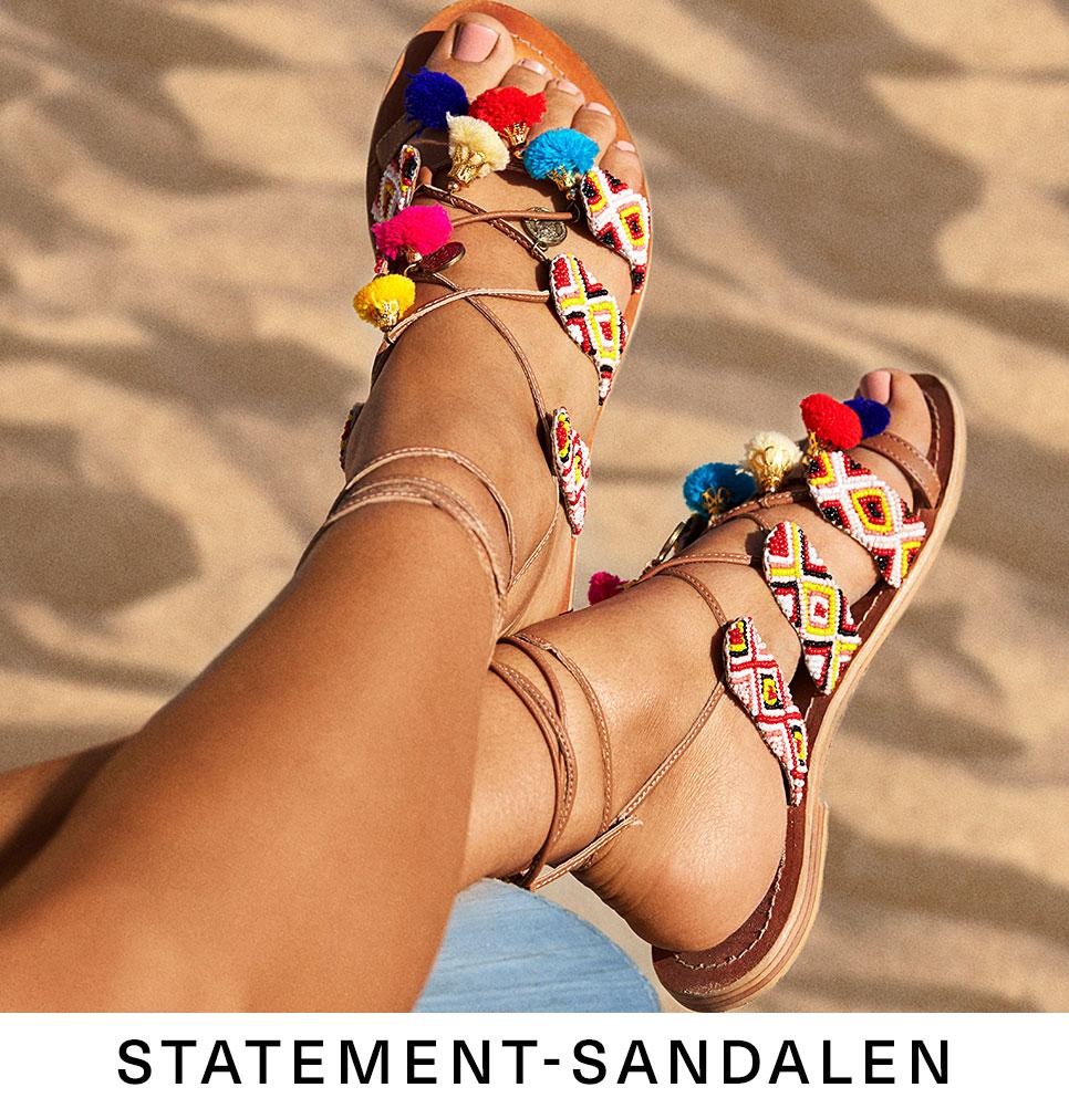 Statement-Sandalen