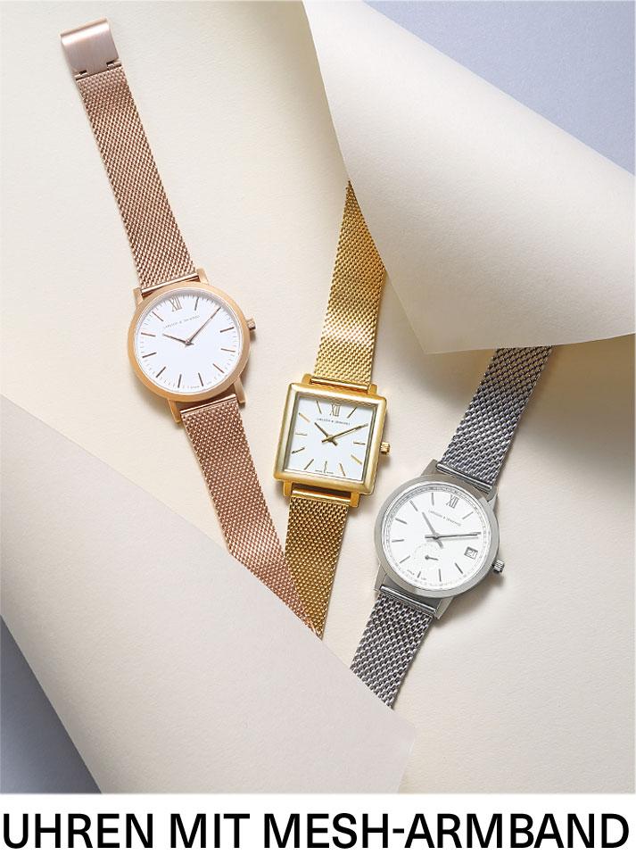 Uhren mit Mesh-Armband