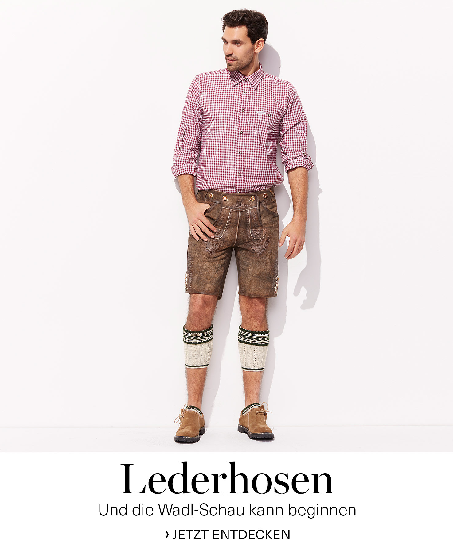 Herren Trachten Bekleidung Lederhosen Trachtenhemden