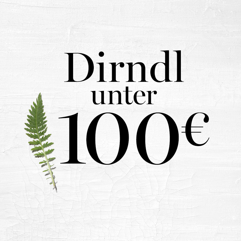 Dirndl unter 100€