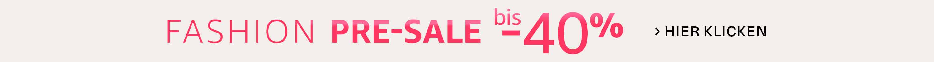 Fashion Sale bis -40%
