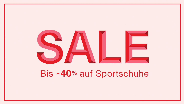 Sale: Bis -40% auf Sportschuhe