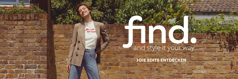 FIND Shop the edit Damen