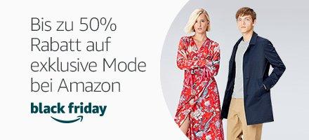 Bis zu 50% auf exklusive Mode bei Amazon