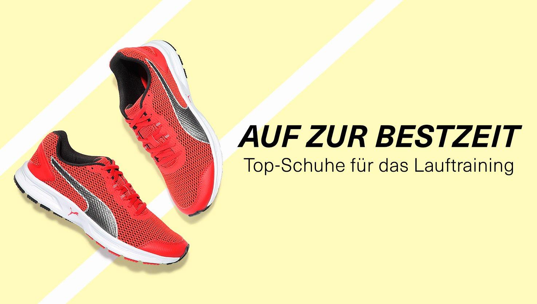 Top-Schuhe für das Lauftraining