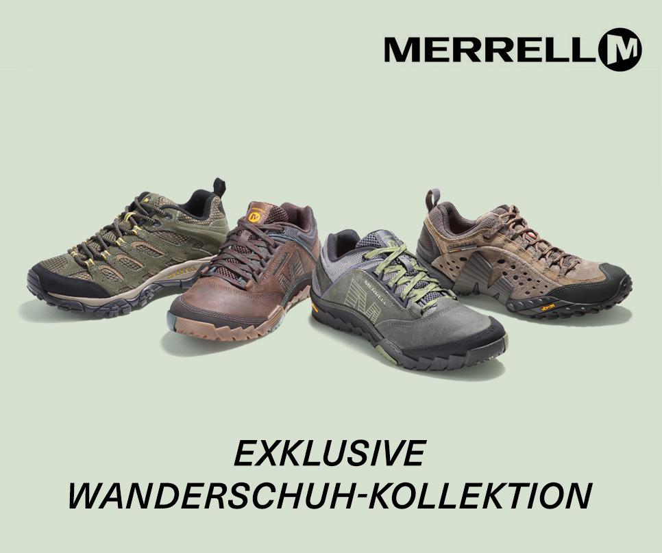 Merrell: Exklusive Wanderschuh-Kollektion