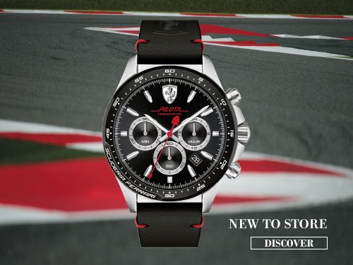 wmark size watch v large watches scuderia ferrari