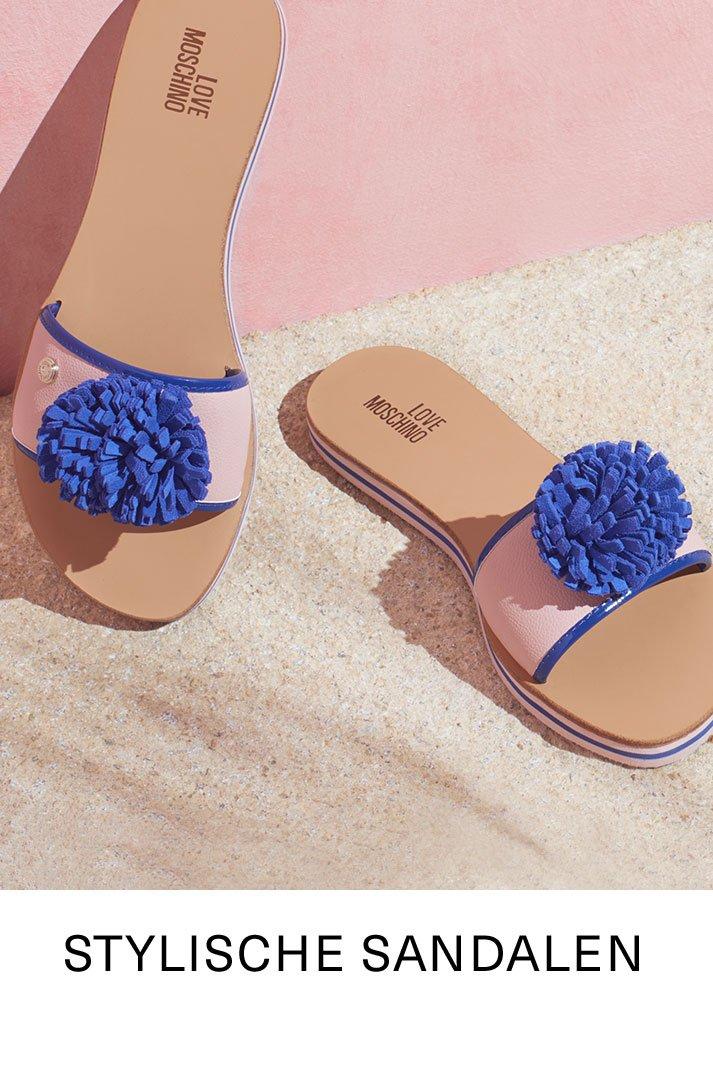 Stylische Sandalen