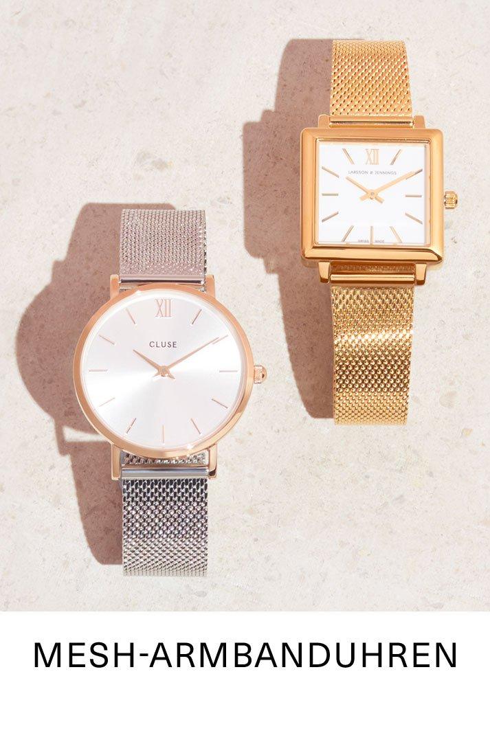 Mesh-Armbanduhren