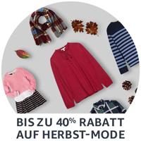 Amazon Fashion: Bis zu 40% Rabatt auf Herbst-Mode
