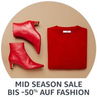 Mid Season Sale: Bis zu 50% Rabatt auf Herbst-/Wintermode