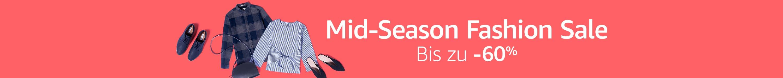 Mid-Season Fashion Sale: Bis zu -60%