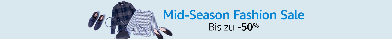 Mid-Season Fashion Sale: Bis zu -50%