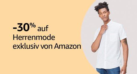 Sparen Sie 30% auf Herrenmode exklusiv von Amazon