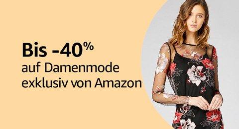 Bis -40% auf Damen Mode exklusiv von Amazon