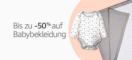 Babybekleidung bis -70% reduziert