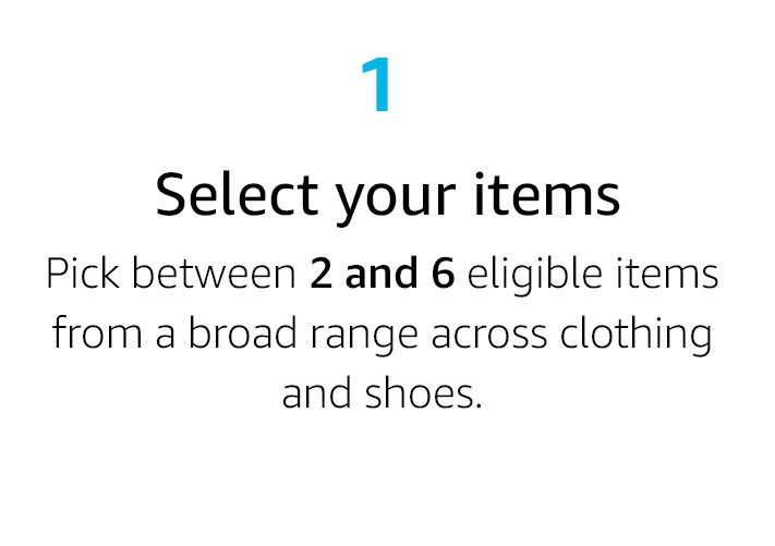 Select your items