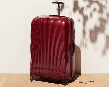 Fashionable suitcases & travel bags