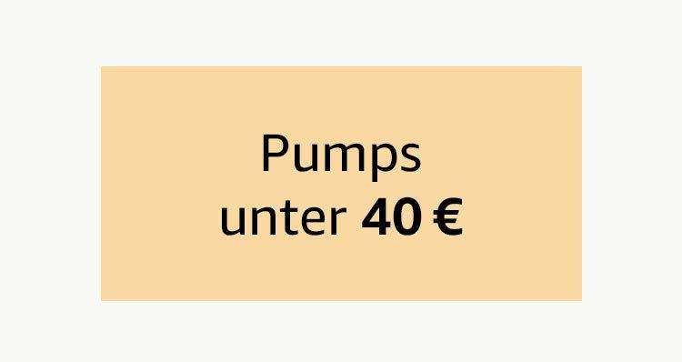 Pumps unter 40 €