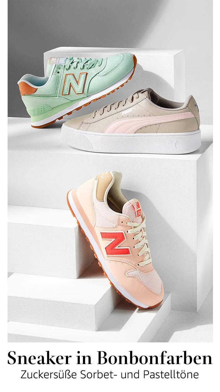 Sneaker in Bonbonfarben