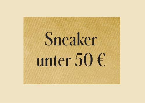 Sneaker unter 50 €