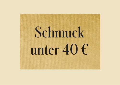 Schmuck unter 40 €