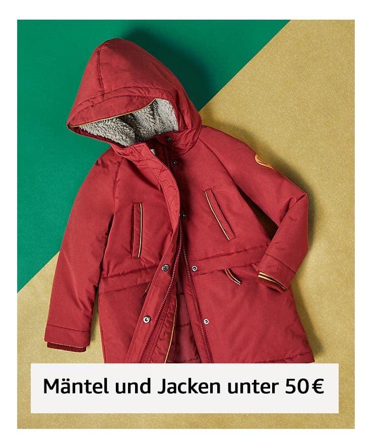 Mäntel und Jacken unter 50 €
