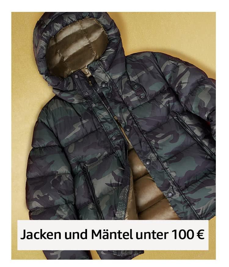 Jacken und Mäntel unter 100 €